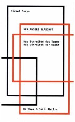 Der andere Blanchot - Surya, Michel