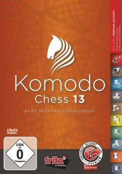 Komodo Chess 13, 1 DVD-ROM