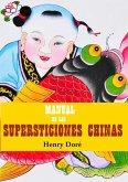 Manual de las supersticiones chinas (eBook, ePUB)