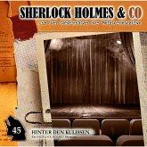 Sherlock Holmes & Co, Folge 45: Hinter den Kulissen (MP3-Download)