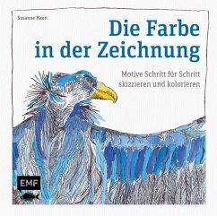 Die Farbe in der Zeichnung (Mängelexemplar) - Haun, Susanne