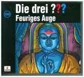 Feuriges Auge / Die drei Fragezeichen - Hörbuch Bd.200 (4 Audio-CDs)
