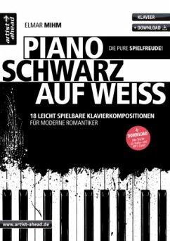 Piano schwarz auf weiß - Mihm, Elmar
