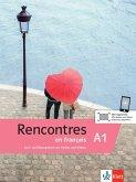 Rencontres en français A1. Kurs- und Übungsbuch + MP3-CD und Videos
