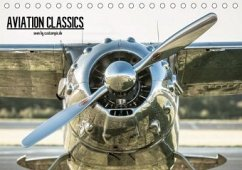 AVIATION CLASSICS seen by custompix.de (Tischkalender 2020 DIN A5 quer)