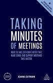 Taking Minutes of Meetings (eBook, ePUB)