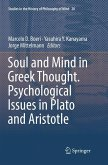 Soul and Mind in Greek Thought. Psychological Issues in Plato and Aristotle