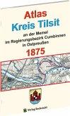 Atlas Kreis Tilsit an der Memel - Regierungsbezirk Cumbinnen 1875