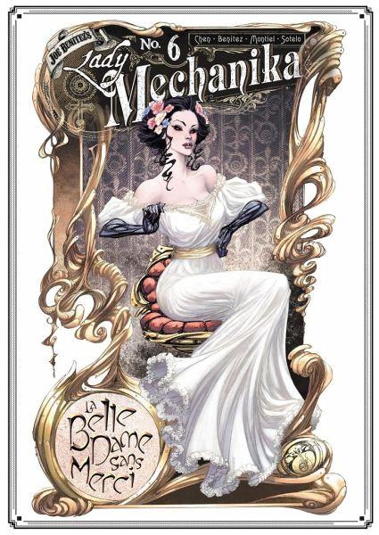 Buch-Reihe Lady Mechanika
