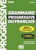 Grammaire progressive du français. Niveau avancé - 3ème édition. Schülerarbeitsheft + Audio-CD + Web-App
