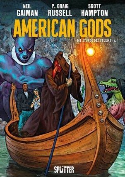 Buch-Reihe American Gods