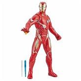 Hasbro E4929EW0 - Avengers Elektronischer Iron Man 33 cm große Action-Figur mit 20 Sounds und Sätzen