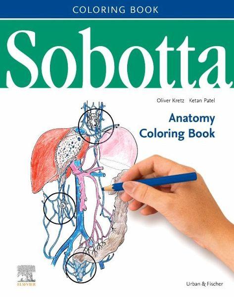 Sobotta Anatomy Coloring Book ENGLISCH/LATEIN