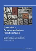 Translation - Fachkommunikation - Fachübersetzung