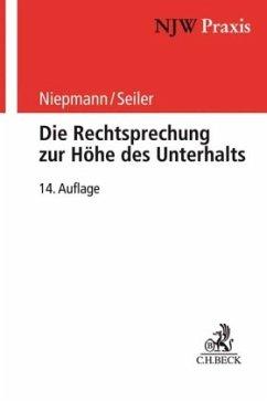 Die Rechtsprechung zur Höhe des Unterhalts - Niepmann, Birgit; Seiler, Christian