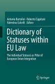 Dictionary of Statuses within EU Law (eBook, PDF)