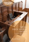 Victim Participation Rights (eBook, PDF)