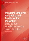 Managing Employee Well-being and Resilience for Innovation (eBook, PDF)