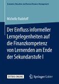Der Einfluss informeller Lerngelegenheiten auf die Finanzkompetenz von Lernenden am Ende der Sekundarstufe I (eBook, PDF)