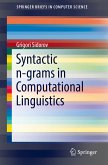 Syntactic n-grams in Computational Linguistics (eBook, PDF)