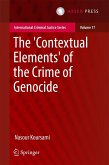 The 'Contextual Elements' of the Crime of Genocide (eBook, PDF)