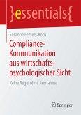 Compliance-Kommunikation aus wirtschaftspsychologischer Sicht (eBook, PDF)