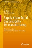 Supply Chain Social Sustainability for Manufacturing (eBook, PDF)