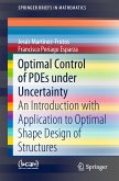 Optimal Control of PDEs under Uncertainty (eBook, PDF)