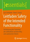 Leitfaden Safety of the Intended Functionality (eBook, PDF)