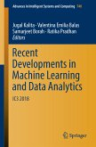 Recent Developments in Machine Learning and Data Analytics (eBook, PDF)
