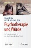 Psychotherapie und Würde (eBook, PDF)