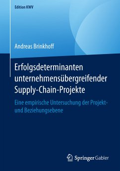 Erfolgsdeterminanten unternehmensübergreifender Supply-Chain-Projekte (eBook, PDF) - Brinkhoff, Andreas