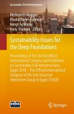 Sustainability Issues for the Deep Foundations (eBook, PDF)