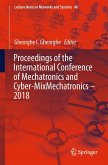 Proceedings of the International Conference of Mechatronics and Cyber-MixMechatronics - 2018 (eBook, PDF)
