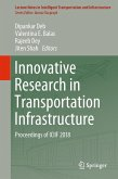 Innovative Research in Transportation Infrastructure (eBook, PDF)