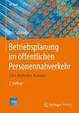 Betriebsplanung im öffentlichen Personennahverkehr (eBook, PDF)
