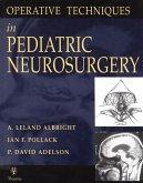 Operative Techniques in Pediatric Neurosurgery (eBook, ePUB)