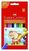 Faber-Castell Buntstifte dreikant Jumbo 5.4mm 12er Karton