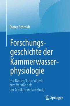 Forschungsgeschichte der Kammerwasserphysiologie (eBook, PDF) - Schmidt, Dieter