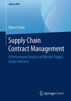 Supply Chain Contract Management (eBook, PDF) - Sieke, Marcel