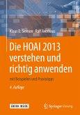 Die HOAI 2013 verstehen und richtig anwenden (eBook, PDF)