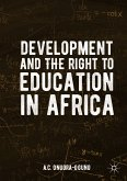 Development and the Right to Education in Africa (eBook, PDF)