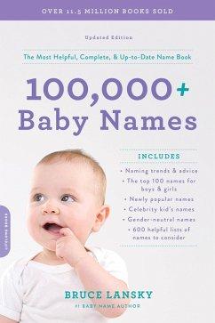 100,000+ Baby Names (eBook, ePUB) - Lansky, Bruce