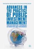 Advances in the Practice of Public Investment Management (eBook, PDF)