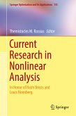 Current Research in Nonlinear Analysis (eBook, PDF)