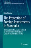 The Protection of Foreign Investments in Mongolia (eBook, PDF)