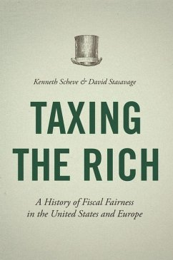 Taxing the Rich (eBook, PDF) - Scheve, Kenneth
