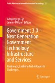 Government 3.0 - Next Generation Government Technology Infrastructure and Services (eBook, PDF)