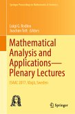Mathematical Analysis and Applications—Plenary Lectures (eBook, PDF)