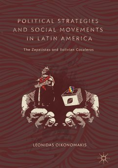 Political Strategies and Social Movements in Latin America (eBook, PDF) - Oikonomakis, Leonidas